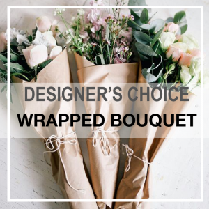A personal touch Wrapped bouquet in Orlando, FL | Artistic East Orlando Florist