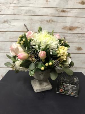 A Pop of Spring Arrangement in Weymouth, MA | DIERSCH FLOWERS