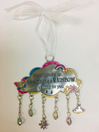 A Rainbow is waiting for you Rainbow Ornament