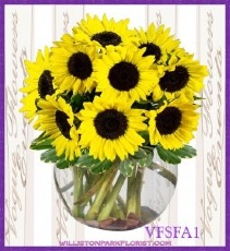 A Ray Of Sunshine Floral Arrangement