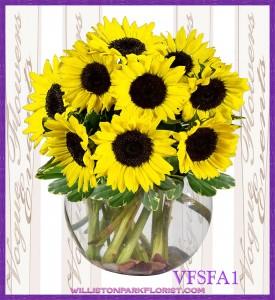 A Ray Of Sunshine Floral Arrangement