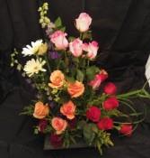 A rose garden roses