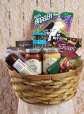A Snacker's Favorite  Gift Basket