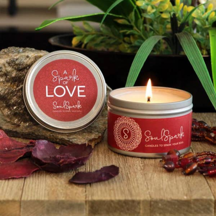 A Spark Of Love Candle