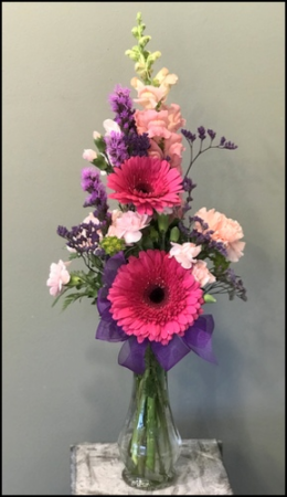 A Splash of Color Vase Arrangement