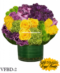 A SPLENDID SURPRISE!! FLORAL ARRANGEMENT