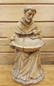 "St. Francis  Statue 12"""