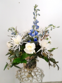 A Study in Blue Fresh Arrangement
