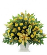A Sunny Disposition Funeral Arrangement