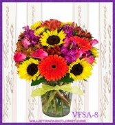 Sunshine Bliss Floral Arrangement
