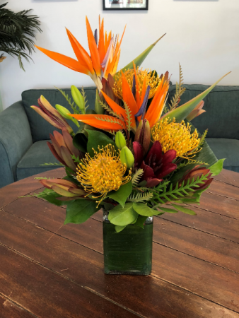 A Taste of the Tropics Vase Arrangement