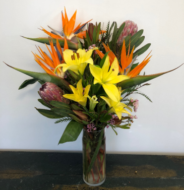 A Taste of the Tropics Vase Arrangement