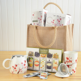 A Tea Lovers Tote Tea Forte Gift Set