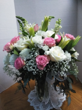 A Tender Touch Vase Floral Arrangement