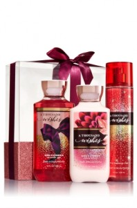 A Thousand Wishes Body Gift Set Sweet Fragrance
