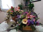 A Tisket A Tasket A Spring Basket Fresh flowers