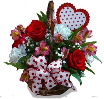 A-Tisket A-Tasket a Valentine Basket