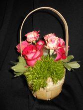 A Tiskit, A Tasket, a Little Floral Basket