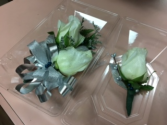 A Touch of Class Wrist Corsage and Matching Boutonniere