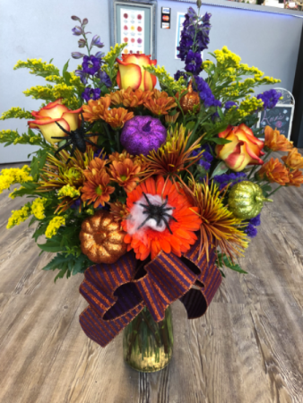 A Touch of Halloween   Vase