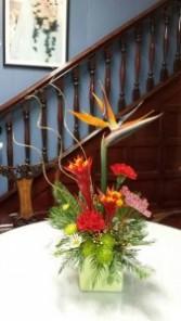 A Touch of Ikebana Art