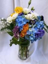 A Touch of Lilac Vase Arrangement