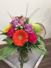 cheerful wishes Vase arrangement