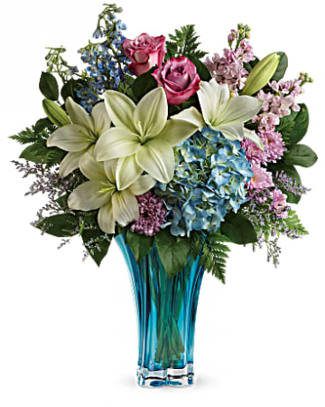 A touch of the Sea Bouquet Beautifully designed with the sea in mind