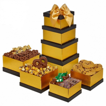 Tasty Treats Tower Father's Day SPECIAL Gift Box