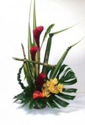 A Tropical Feast Arrangement