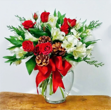 Christmas Cheer  Vase Arrangement