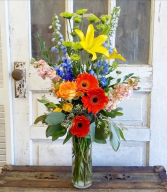The Dora Bouquet Vase Arrangement