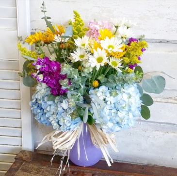 The Myrtle Bouquet Vase Arrangement