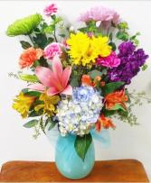 The Dorothy Bouquet Vase Arrangement