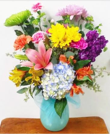 The Dorothy Bouquet Vase Arrangement