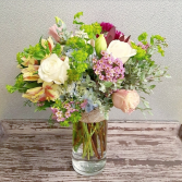 The Agatha Bouquet Vase Arrangement
