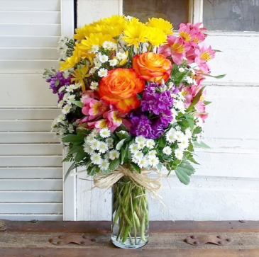 The Gloria Bouquet  Vase Arrangement