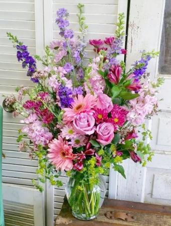So This Is Love Vase Arrangement