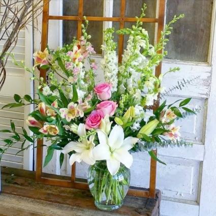 Live to Love Vase Arrangement