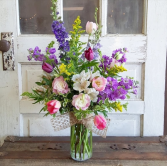 The Brenda Bouquet  Vase Arrangement