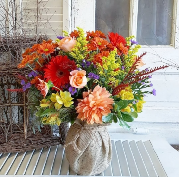 Ocean Sunrise Vase Arrangement