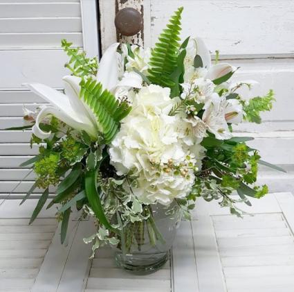 Pure Petals Vase Arrangement