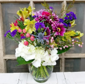 The Opal Bouquet  Vase Arrangement