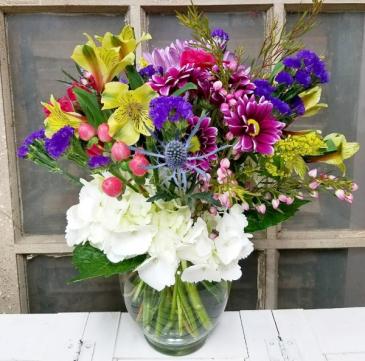 The Opal Bouquet  Vase Arrangement
