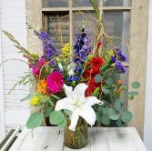 A Whole New World  Vase Arrangement