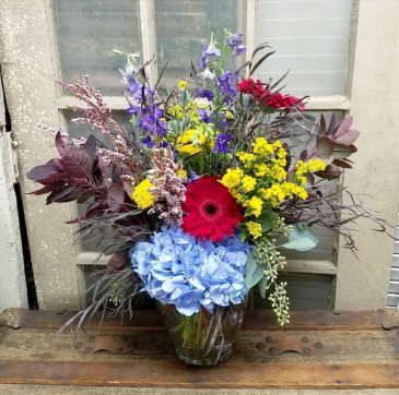 Once Upon a Time Vase Arrangement