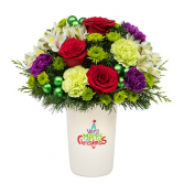 A Very Merry Christmas Bouquet Arrangement