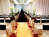 Calla Lily Walk Way Wedding Flowers