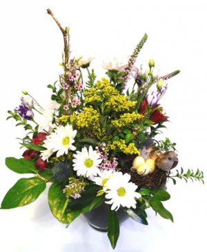 A Walk in the Meadow Container Arragement in Invermere, BC | INSPIRE FLORAL BOUTIQUE