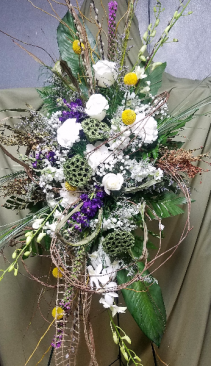 A Walk in the Woods Easel arrangement